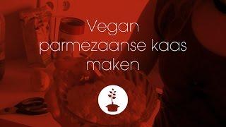 vegan parmezaanse kaas maken