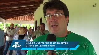 Eduardo Queiroz do SENAR fala do dia de campo Betânia em Quixeramobim