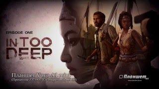 Играем Walking dead: Michonne на планшете Voyo A1 mini, tablet pc gameplay test