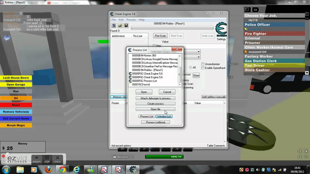 Roblox Cheat Engine Dll Inject Proof Of Patch Youtube