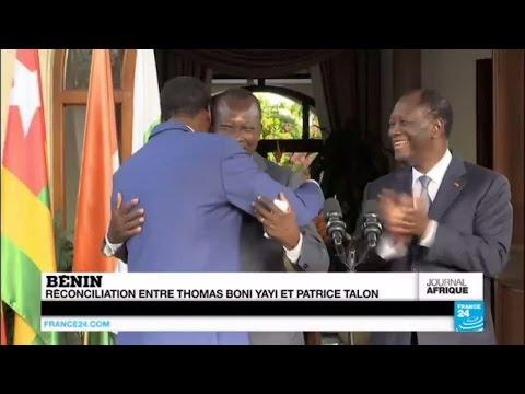 BÉNIN - Réconciliation entre les frères ennemis Thomas Boni Yayi et Patrice Talon