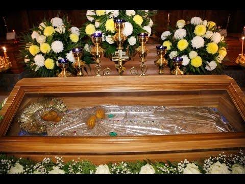 Пребывание Плащаницы Богородицы в Святогорской Лавре 21-22.11.15г.
