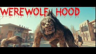 giant werewolf attack - best scenes - Chronicles of the Ghostly Tribe HD