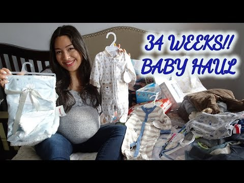 Baby Haul- newborn clothes, diaper bag & more