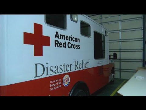 Red Cross volunteers from Nebraska helping in Texas