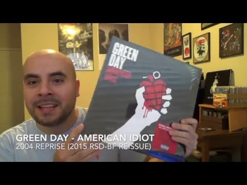 Sealed To Revealed #3: Green Day - American Idiot - RSD Black Friday 2015