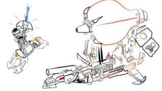 Ninjago 2016 Set Concept Drawings