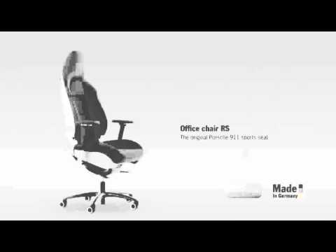 Office chair RS u2013 the original Porsche 911 sports seat & Office chair RS u2013 the original Porsche 911 sports seat - YouTube
