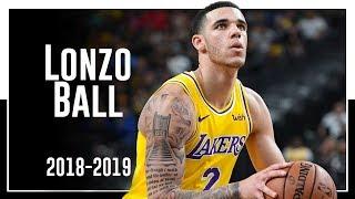 Pelicans PG Lonzo Ball 2018-2019 Season Highlights ᴴᴰ