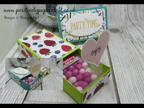 Gorgeous TicTac Matchbox With Pop-Up Surprise & Amazing News!!