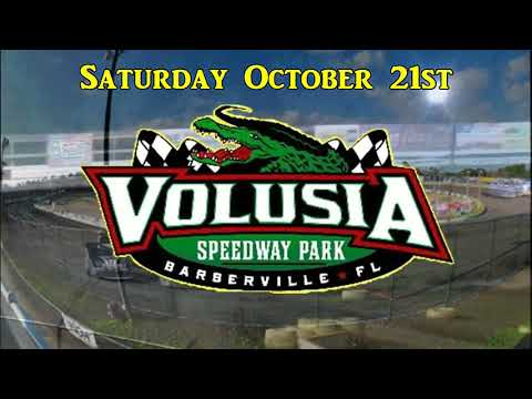 Florida Late Model Points Challenge event October 21st at Volusia Speedway