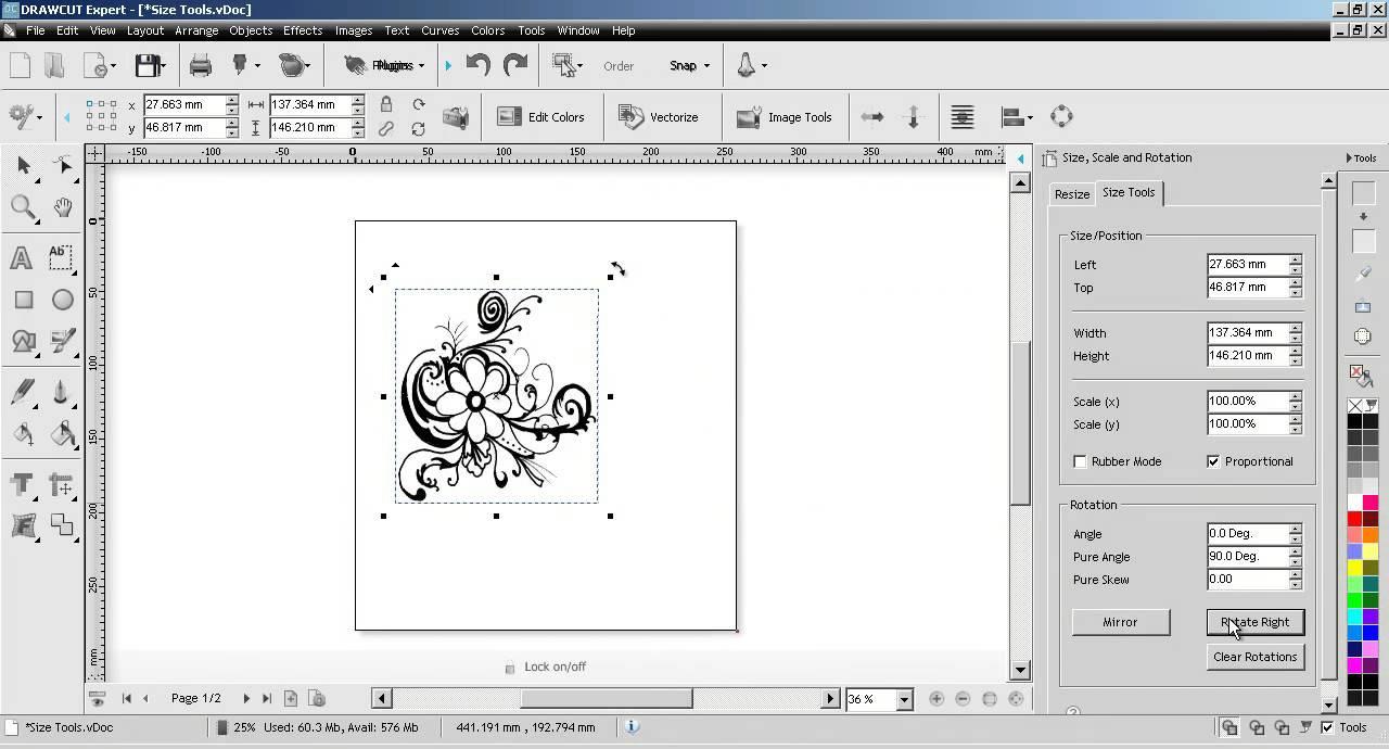DrawCut Cutting Software