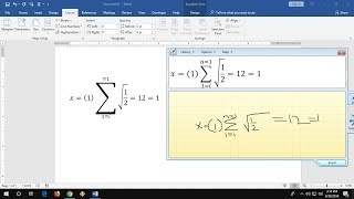 Easiest Way to Type Math Equations in MS Word screenshot 5
