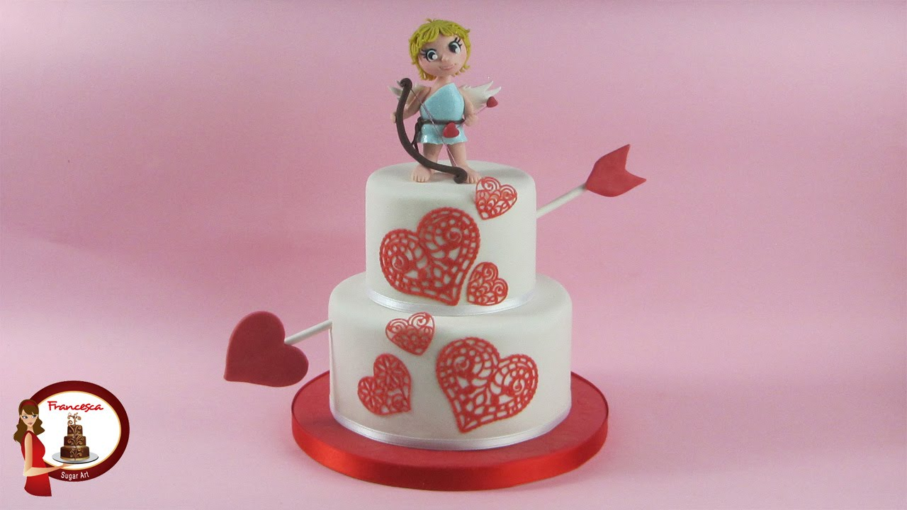 Cupid Cake Topper