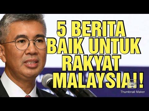 5 BERITA BAIK KEMENTERIAN KEWANGAN MALAYSIA !!