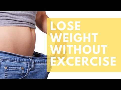 how to lose weight fast without exercise in ONE WEEK(2019)