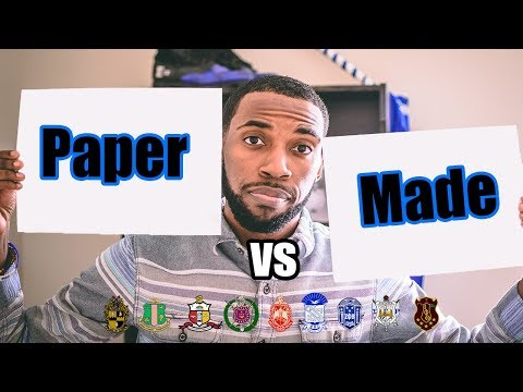 PAPER VS MADE | NPHC ADVICE