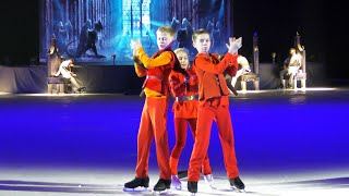 Евгений Плющенко и воспитанники его Академии фигурного катания в шоу Лебединое озеро
