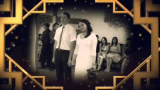 Свадебный видеоальбом  ( волнующие  воспоминания ) Стиль Блеск золота
