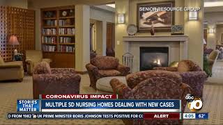 Multiple San Diego nursing homes dealing with coronavirus cases