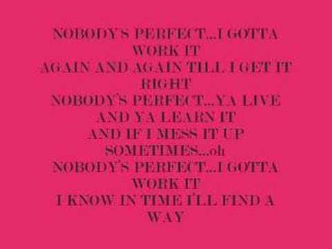 Hannnah Montana Nobodys Perfect Lyrics Youtube I gotta fix things up but i know i always get it right in the end. youtube