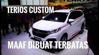 Daihatsu Terios Custom: Makin Sporty Makin Cihuyyy | GIIAS 2018