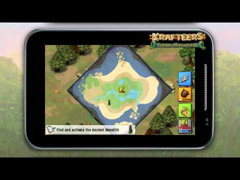 Krafteers: Tomb Defenders - Tutorial + Gameplay