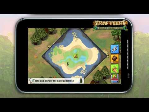 Krafteers: Tomb Defenders - Tutorial + Gameplay