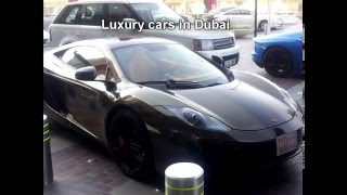 Luxury and sport cars in Dubai