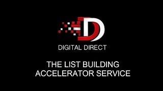 Digital Direct List Building Accelerator - Service Overview