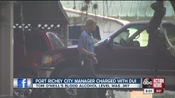 Port Richey City Manager had .367 BAC