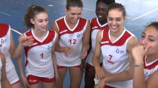 03-07-2014: tdrvolley2014, Il rap della vittoria laziale in finale 3/4 contro la Toscana