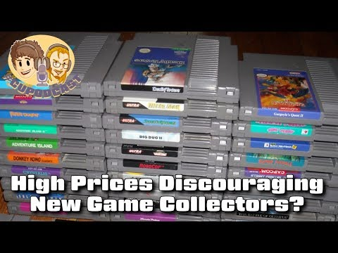 High Retro Game Prices Discouraging New Collectors? #CUPodcast