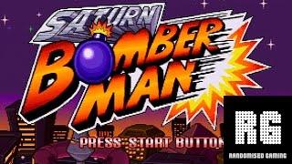 Saturn Bomberman - Sega Saturn - Intros with Master and Normal Game mode gameplay [1080p 60fps]