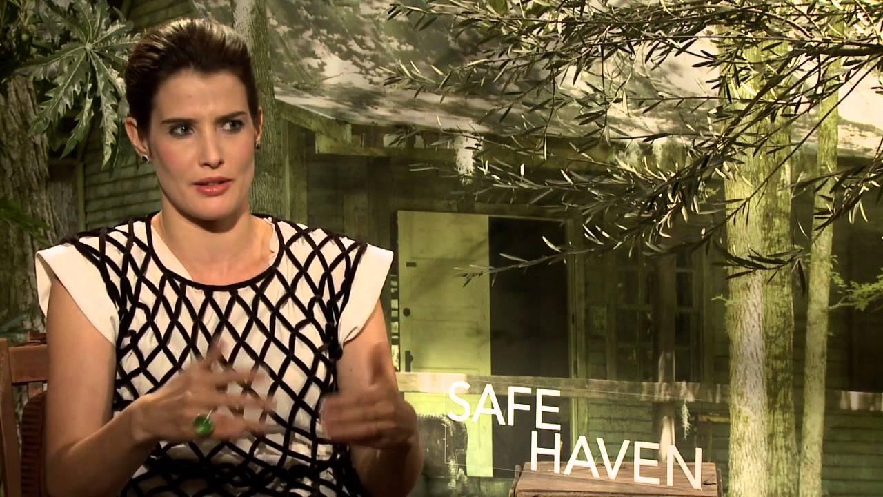 ScreenSlam -- Safe Haven, Cobie Smulders Interview - YouTube