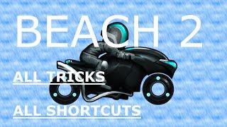 [Bike Race TFG] Beach 2 *All levels* *All shortcuts* (Ultra Bike)