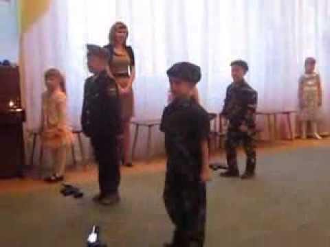 Танец будущих защитников Отечества!