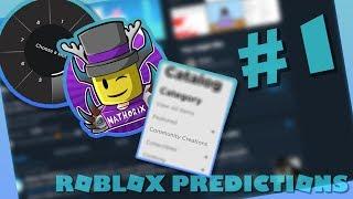 Roblox Predictions Podcast Ep1   Nathorix, New Emotes, UGC. (W/Dazzle)