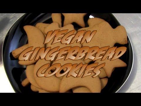 Gingerbread Cookie Recipe | Vegan | The Vegan Zombie