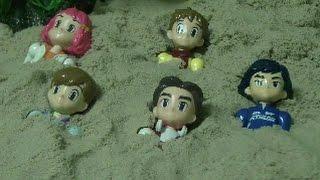 또봇 장난감 모래놀이 Tobot Toys Sand
