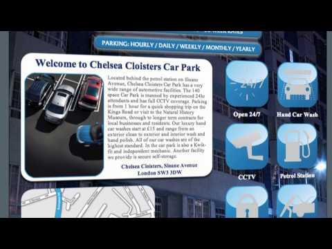Car Park Kensington By Chelsea Cloisters Car Park