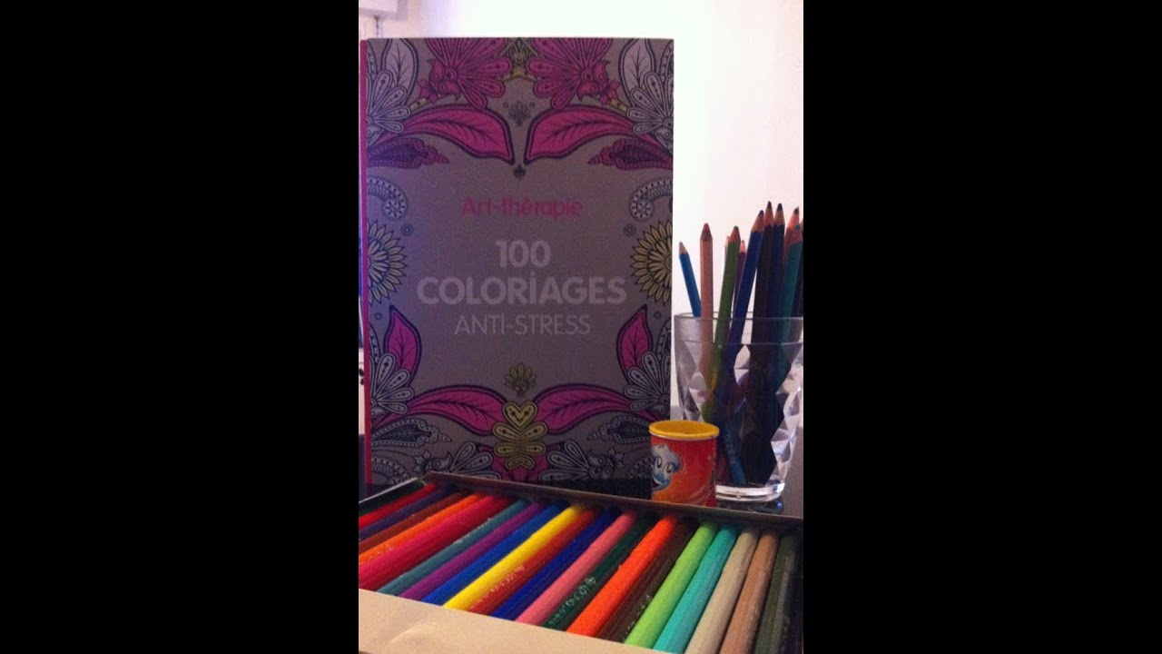 Comment Faire Un Coloriage Anti Stress.100 Coloriages Anti Stress Un Livre Qui Me Fait Du Bien