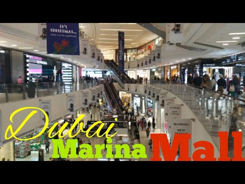 Marina Mall dubai || best shopping centre Dubai|| Dubai Marina Mall 2020