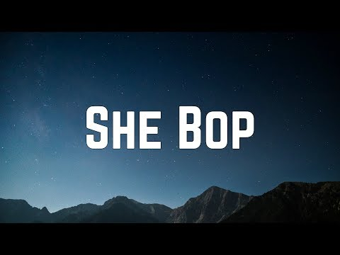 Cyndi Lauper - She Bop (Lyrics)