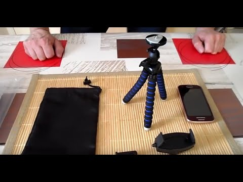 arkon-mg2tri-flexible-trépied-mobile-test-unboxing-.🇫🇷🗜️📷📱📹