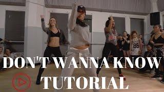 Dont Wanna Know By Maroon 5 Dance Tutorial| @DanaAlexaNY Choreography