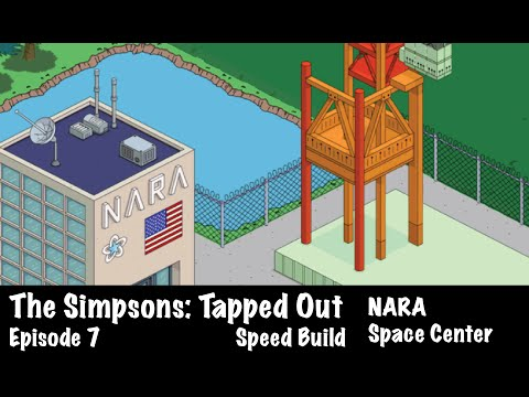 The Simpsons: Tapped Out - NARA Space Center (Design)