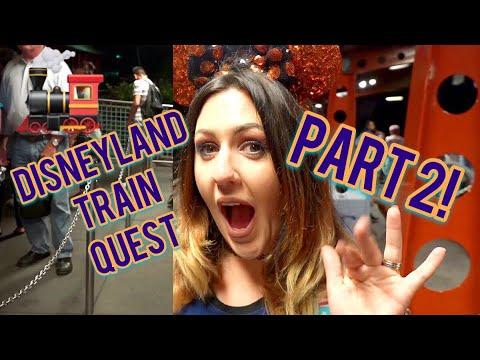 Disneyland Train Quest: Jurassic Mission Part 2   Jinks! Sleeping on Main Street