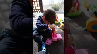 Inteligente toddler fixing toys