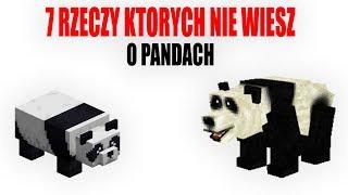 7 RZECZY KTÓRYCH NIE WIESZ O PANDACH W MINECRAFT!